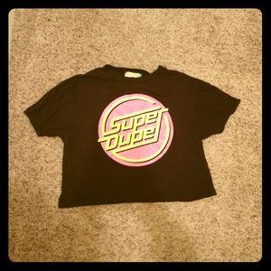 Super Duper Cropped Shirt
